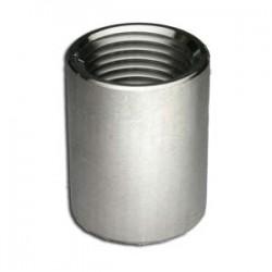 """1/2"""" FPT Full Coupler - 304 Stainless Steel"""